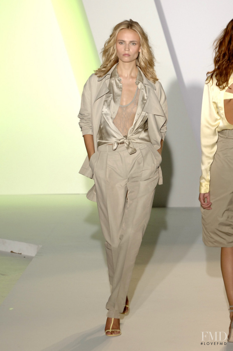 Natasha Poly featured in  the Preen by Thornton Bregazzi fashion show for Spring/Summer 2008