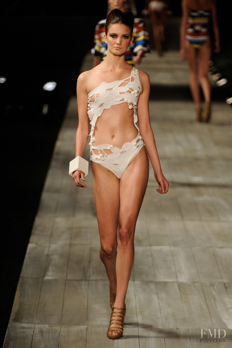 Nadine Ponce featured in  the Lenny fashion show for Spring/Summer 2012