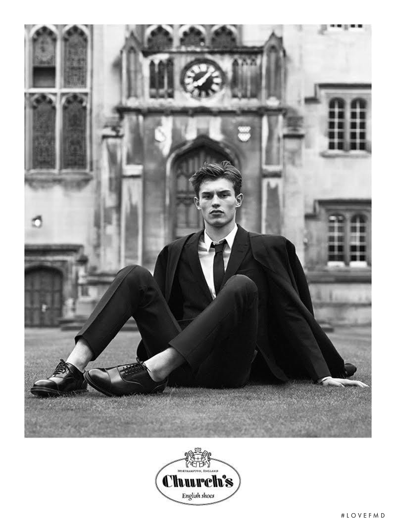 Church's English Shoes advertisement for Autumn/Winter 2016