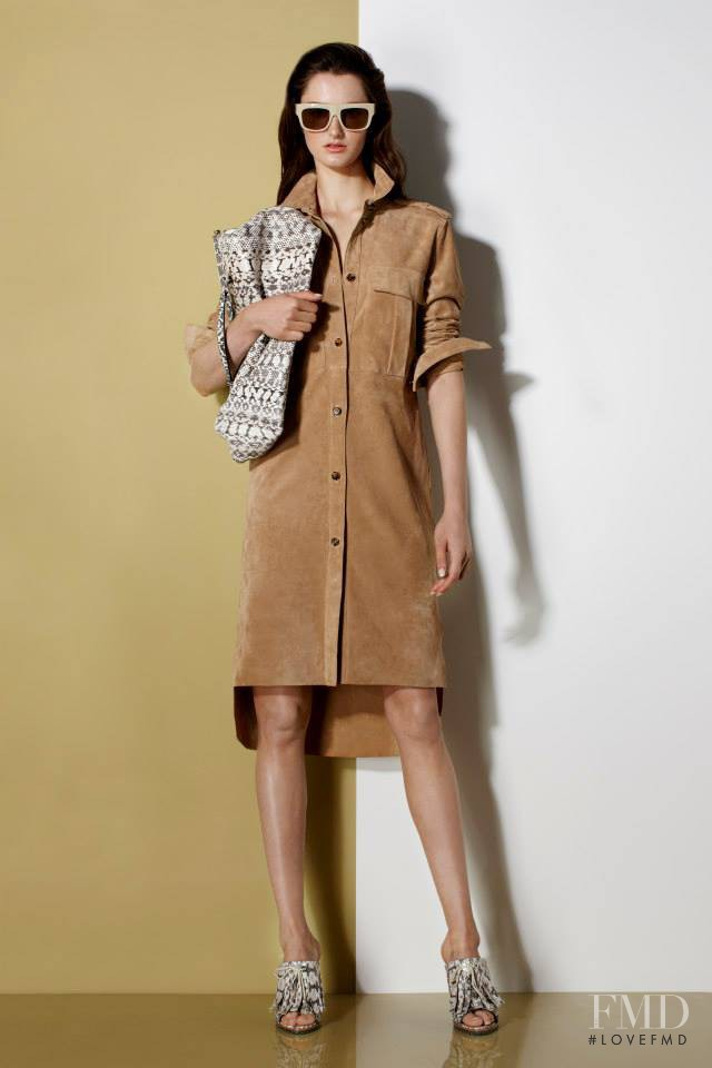 Mackenzie Drazan featured in  the Ports 1961 fashion show for Resort 2014