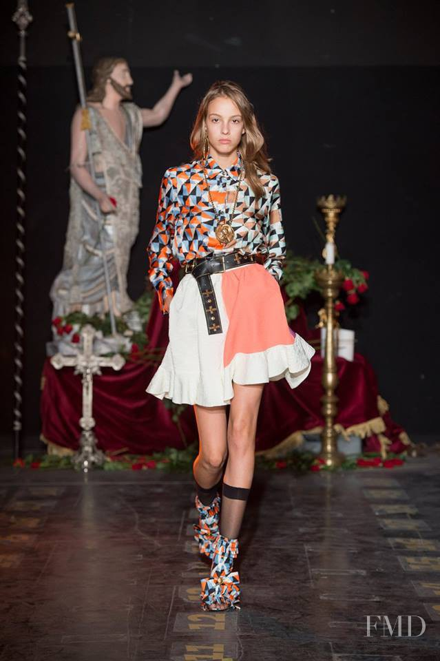 Fausto Puglisi fashion show for Spring/Summer 2017
