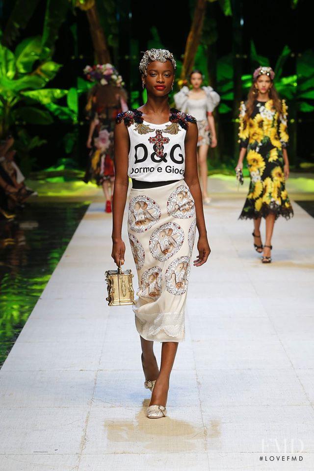Dolce & Gabbana fashion show for Spring/Summer 2017