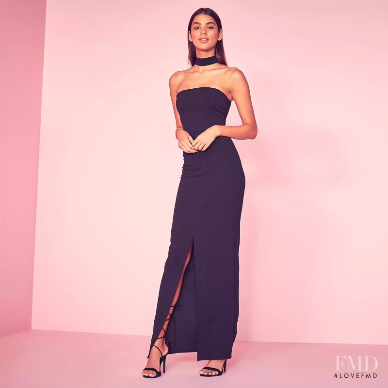 Bruna Lirio featured in  the Missguided advertisement for Spring/Summer 2016