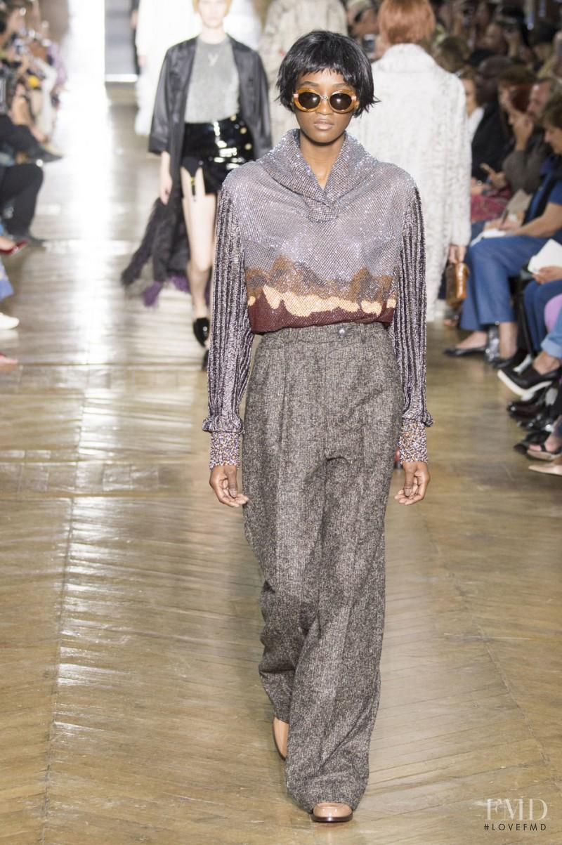 Ulyana Sergeenko fashion show for Autumn/Winter 2016