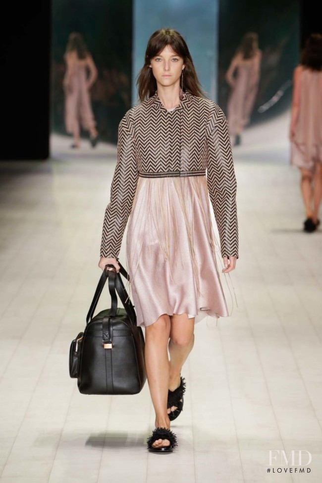 Stephanie Joy Field featured in  the Ginger & Smart fashion show for Resort 2017