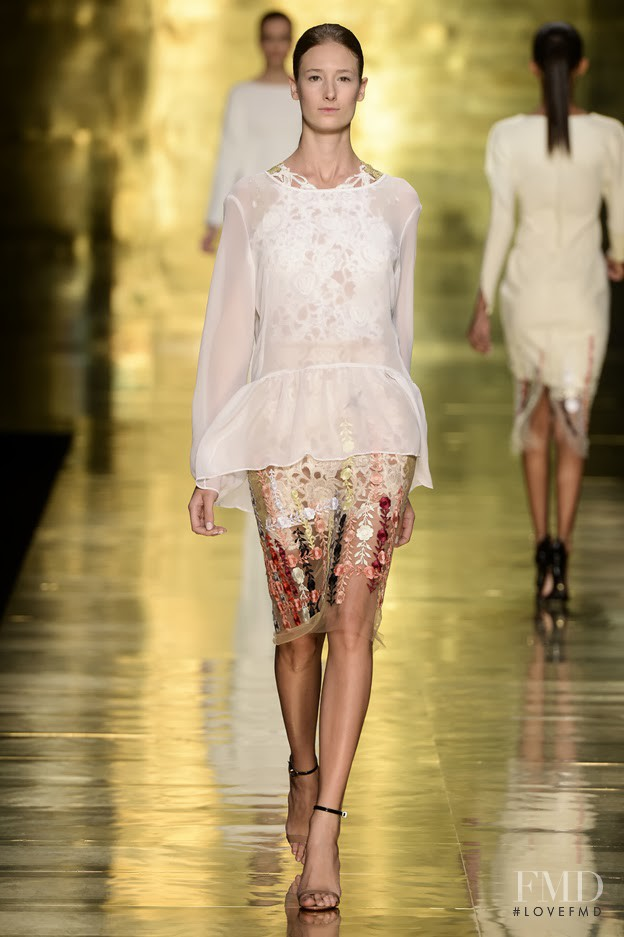 Patricia Muller featured in  the Llas fashion show for Autumn/Winter 2014
