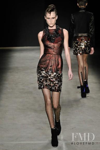 Printing fashion show for Autumn/Winter 2010