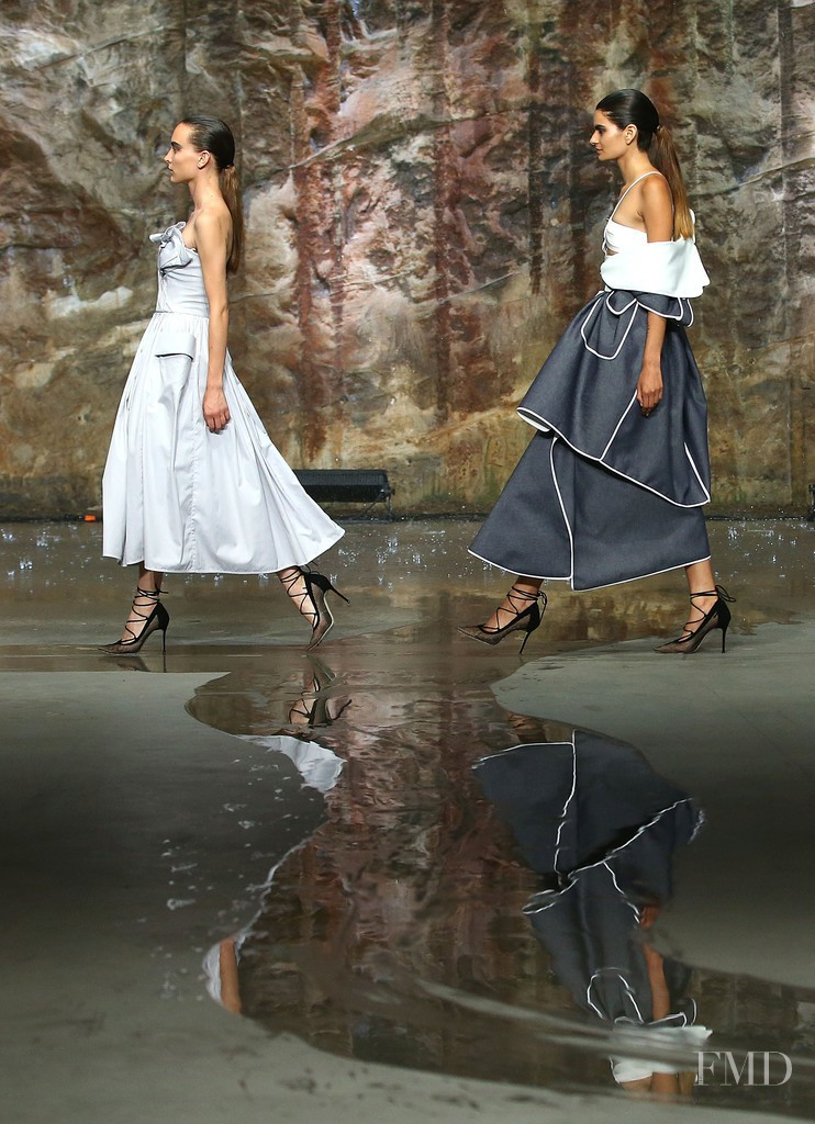 Ollie Henderson featured in  the Myer fashion show for Autumn/Winter 2016