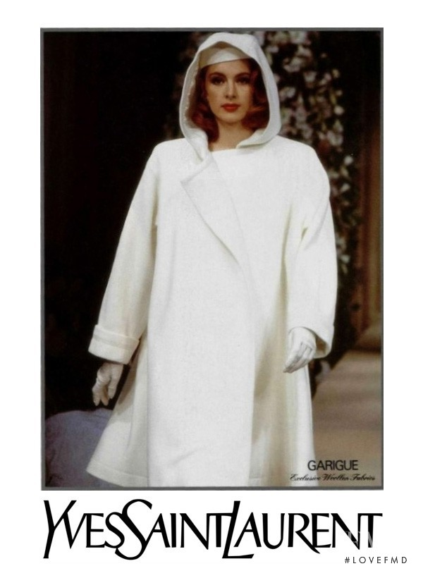 Saint Laurent advertisement for Spring/Summer 1991