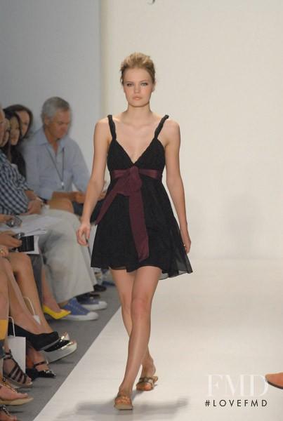 Yulia Vasiltsova featured in  the Jenni Kayne fashion show for Spring/Summer 2007