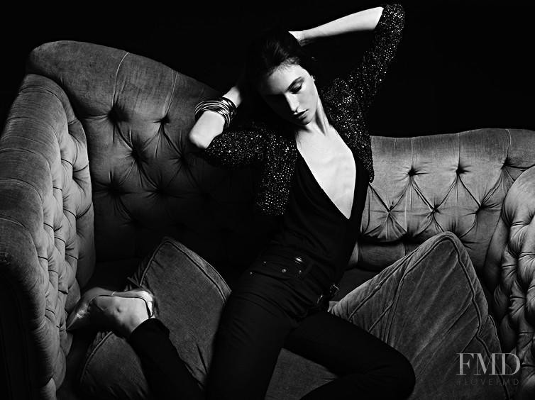 Jacquelyn Jablonski featured in  the Saint Laurent advertisement for Pre-Fall 2013