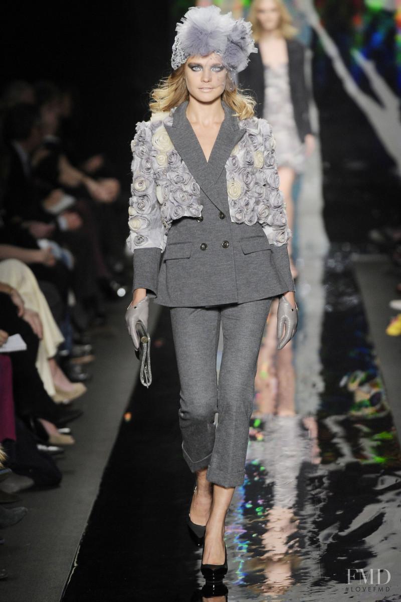 Natalia Vodianova featured in  the Diane Von F�rstenberg fashion show for Autumn/Winter 2010