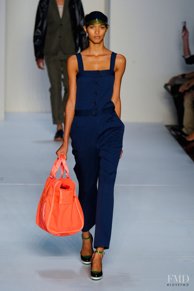 Lais Ribeiro featured in  the Marc by Marc Jacobs fashion show for Spring/Summer 2012
