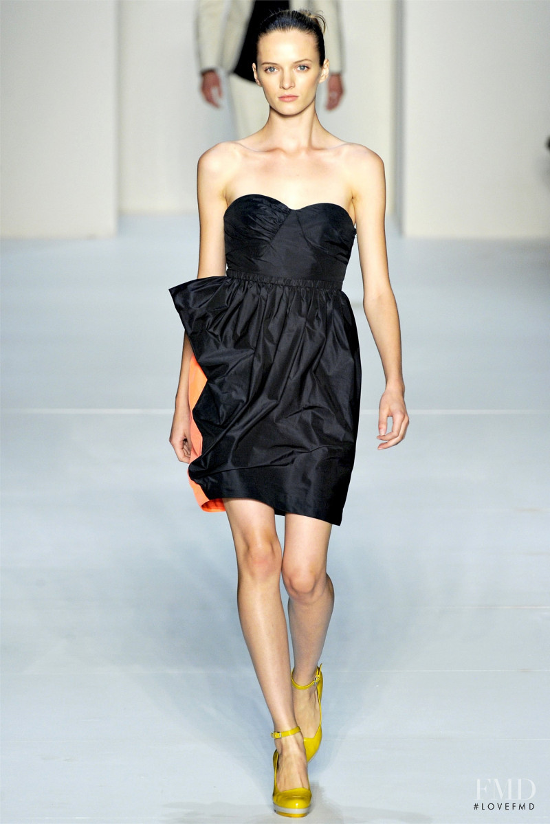 Daria Strokous featured in  the Marc by Marc Jacobs fashion show for Spring/Summer 2012