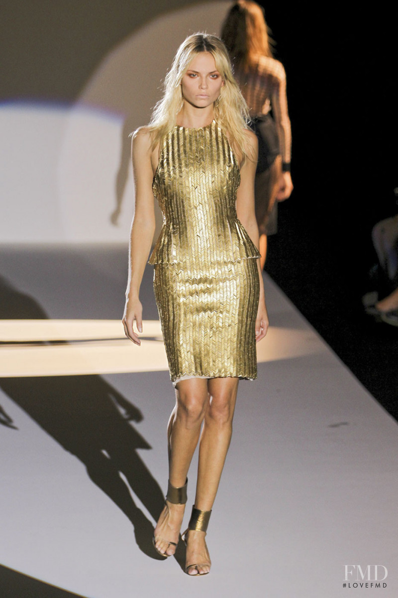 Natasha Poly featured in  the Hakaan fashion show for Spring/Summer 2012