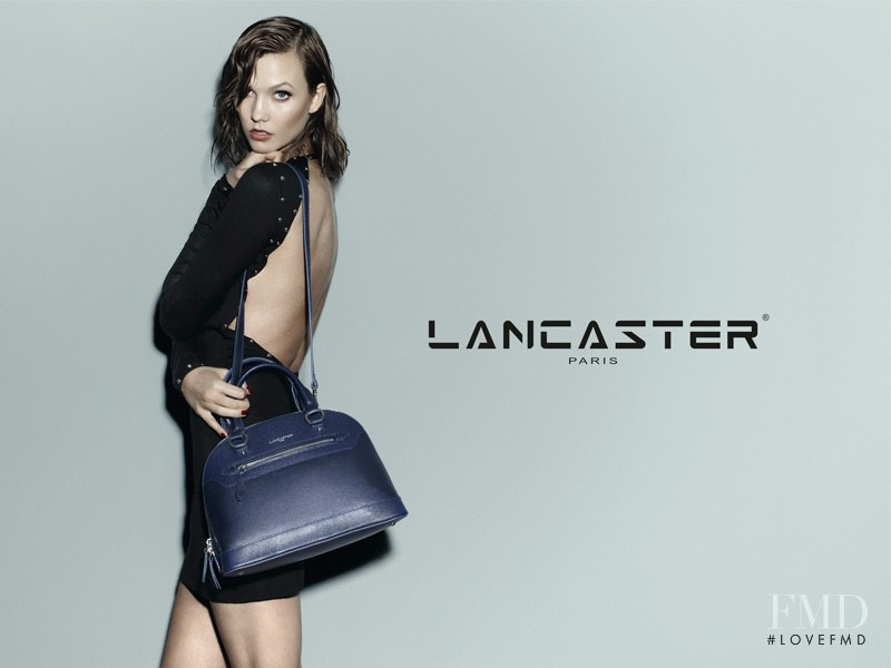Karlie Kloss featured in  the Lancaster Paris advertisement for Autumn/Winter 2014