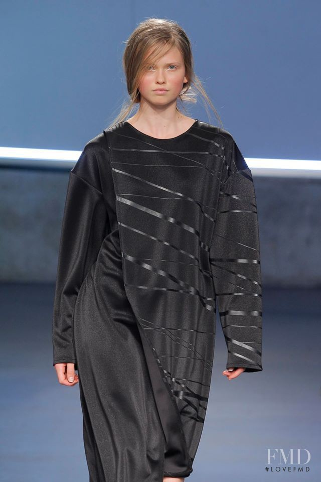 Daniela Hanganu featured in  the Joao Rola fashion show for Spring/Summer 2015