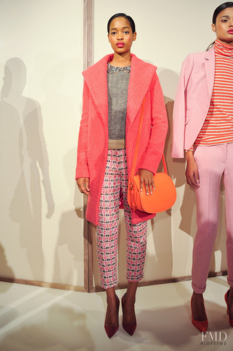 Marihenny Rivera Pasible featured in  the J.Crew fashion show for Autumn/Winter 2012