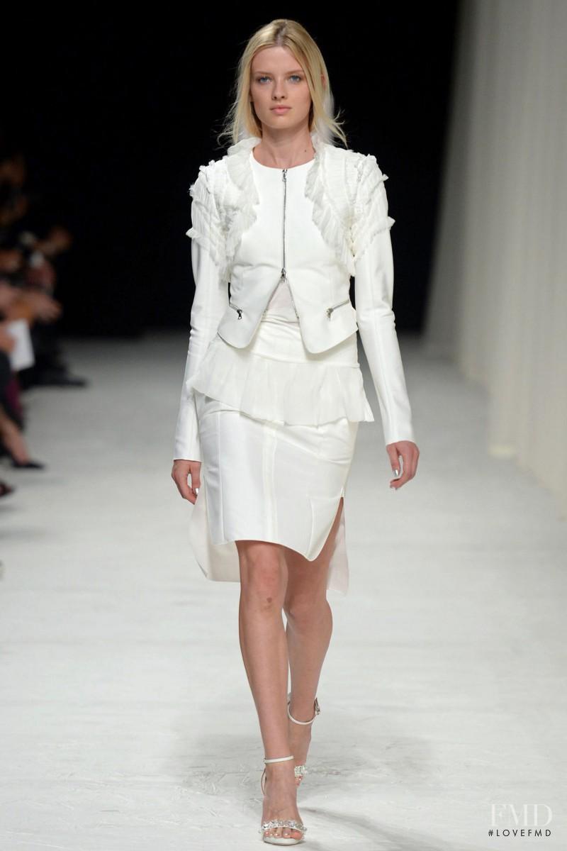 Natalia Siodmiak featured in  the Nina Ricci fashion show for Spring/Summer 2014