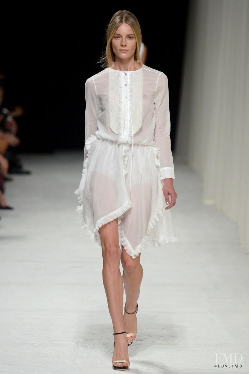 Ieva Laguna featured in  the Nina Ricci fashion show for Spring/Summer 2014