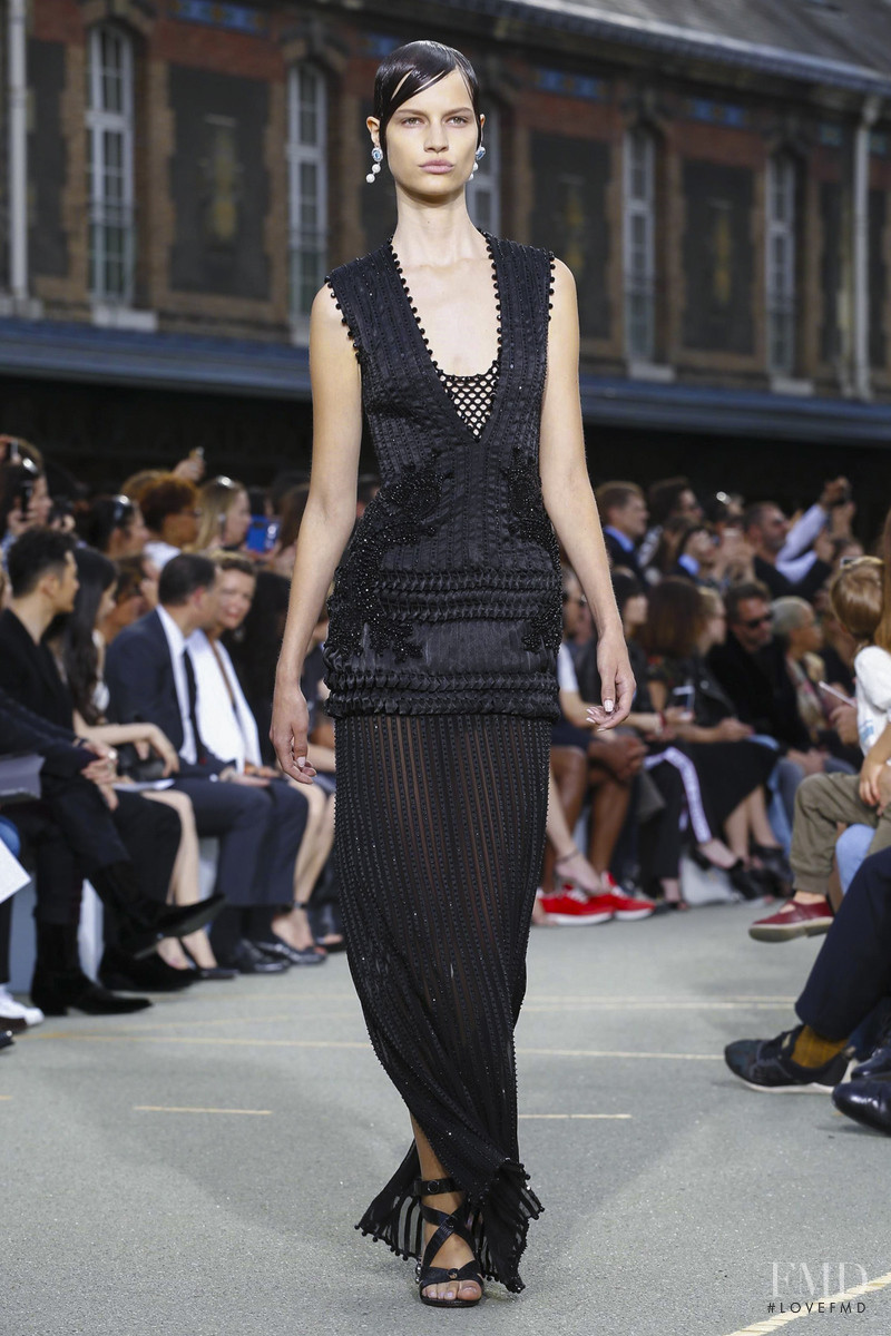 Faretta Radic featured in  the Givenchy fashion show for Spring/Summer 2017