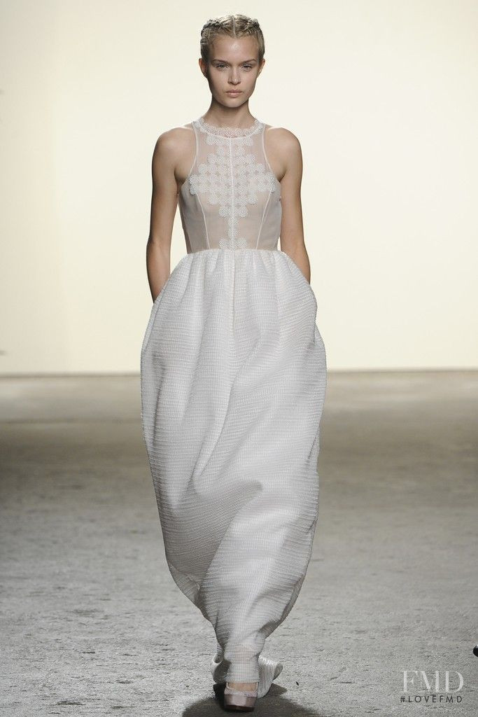 Josephine Skriver featured in  the Honor fashion show for Spring/Summer 2013