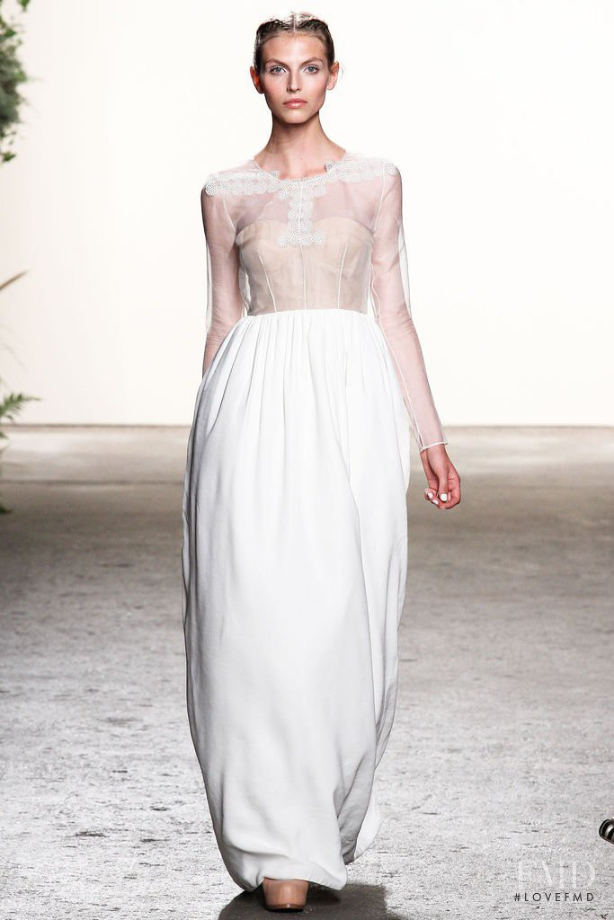 Karlina Caune featured in  the Honor fashion show for Spring/Summer 2013