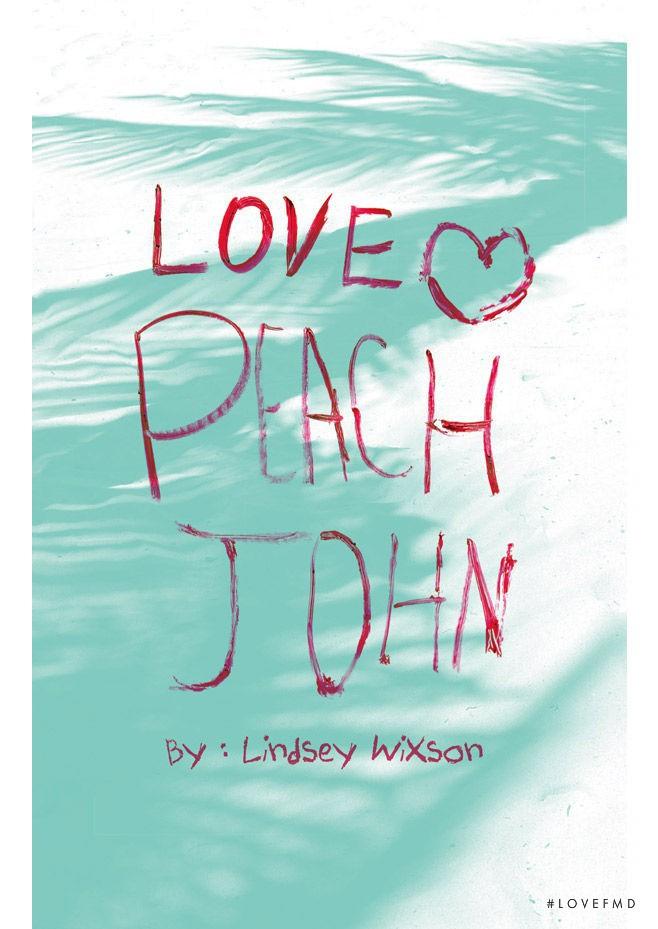 Peach John lookbook for Summer 2016