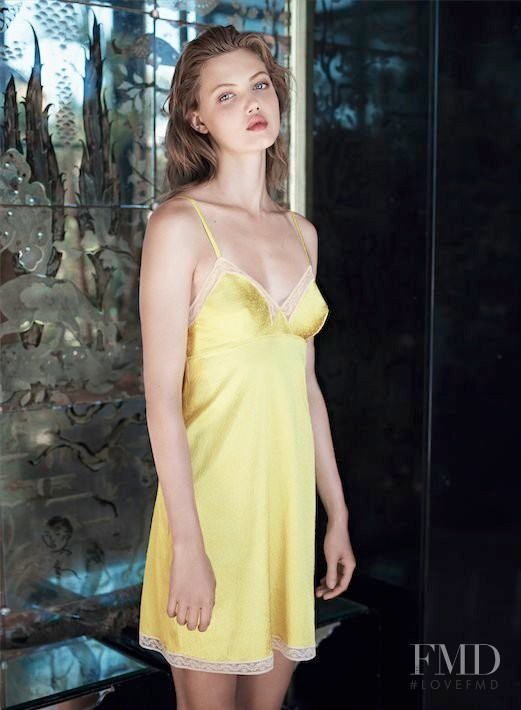 Lindsey Wixson featured in  the Eres Lingerie advertisement for Spring/Summer 2014