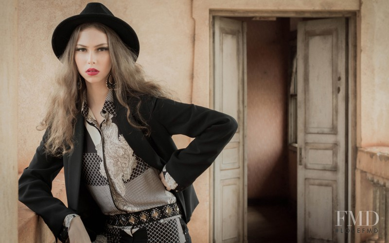 Lorena Maraschi featured in  the Maria Lira advertisement for Autumn/Winter 2013