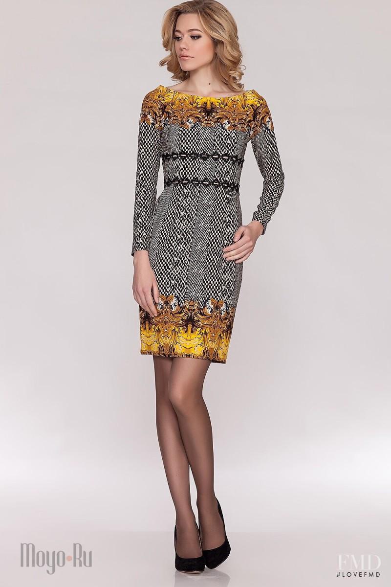 Ksenia Islamova featured in  the Moyo catalogue for Autumn/Winter 2014