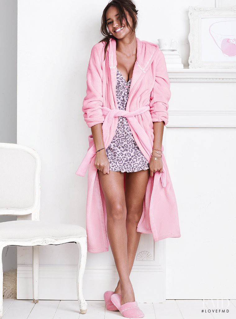 Gracie Carvalho featured in  the Victoria\'s Secret Lingerie & Sleepwear catalogue for Autumn/Winter 2013