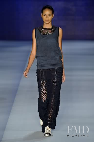 Gracie Carvalho featured in  the Osklen fashion show for Spring/Summer 2011