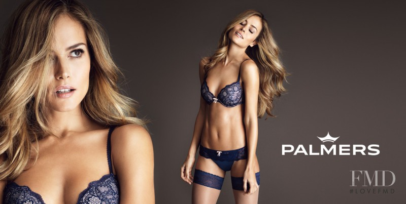 Natalia Borges featured in  the Palmers advertisement for Autumn/Winter 2016