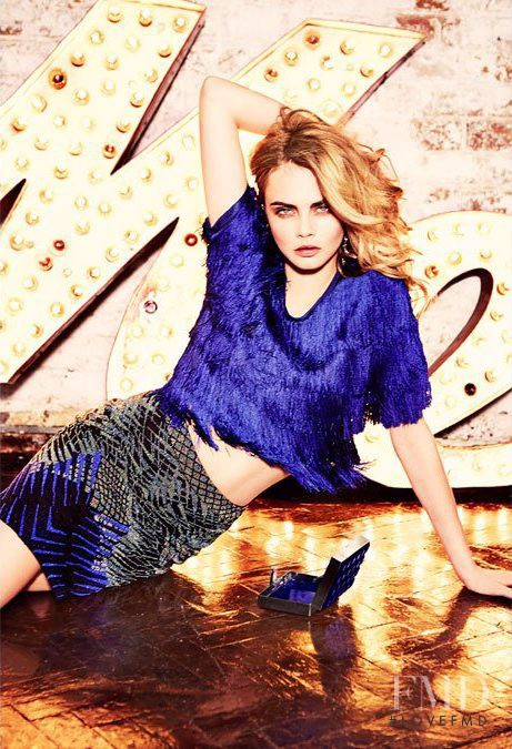 Cara Delevingne featured in  the BoBo advertisement for Autumn/Winter 2014