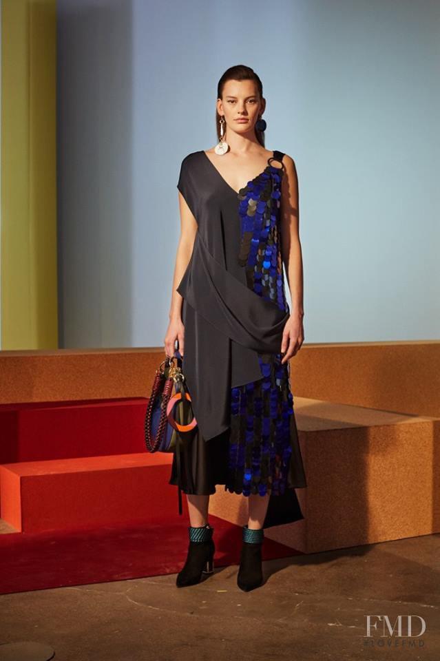Amanda Murphy featured in  the Diane Von F�rstenberg fashion show for Autumn/Winter 2017