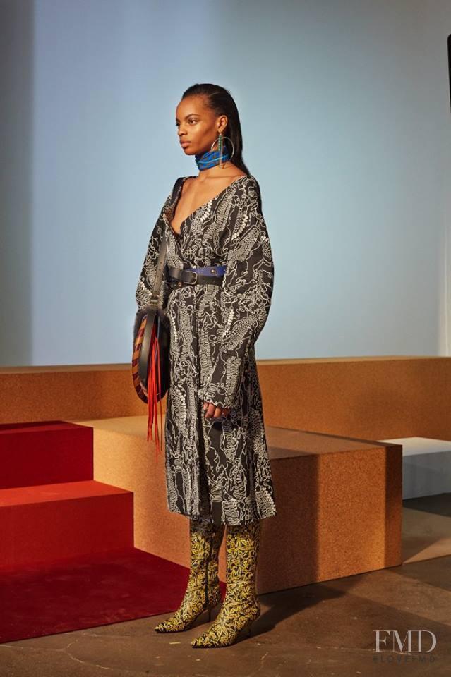 Diane Von F�rstenberg fashion show for Autumn/Winter 2017