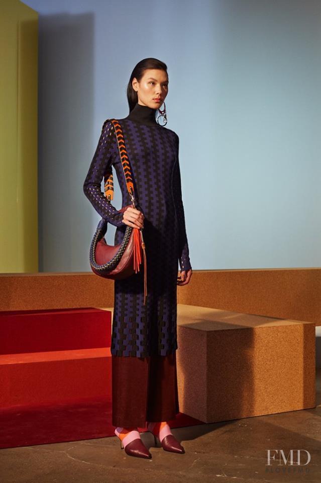Angelica Erthal featured in  the Diane Von F�rstenberg fashion show for Autumn/Winter 2017
