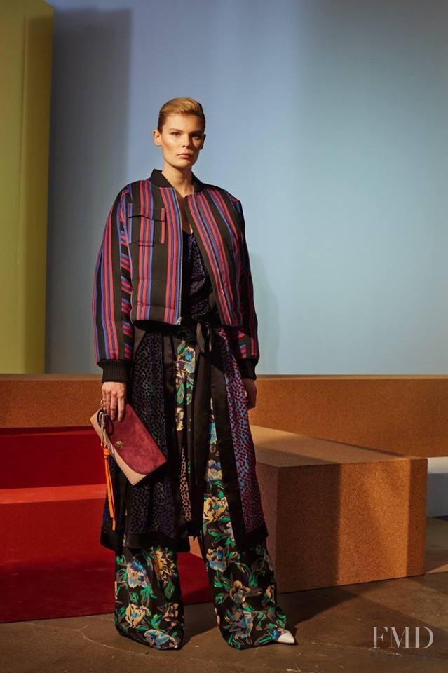 Alexandra Elizabeth Ljadov featured in  the Diane Von F�rstenberg fashion show for Autumn/Winter 2017