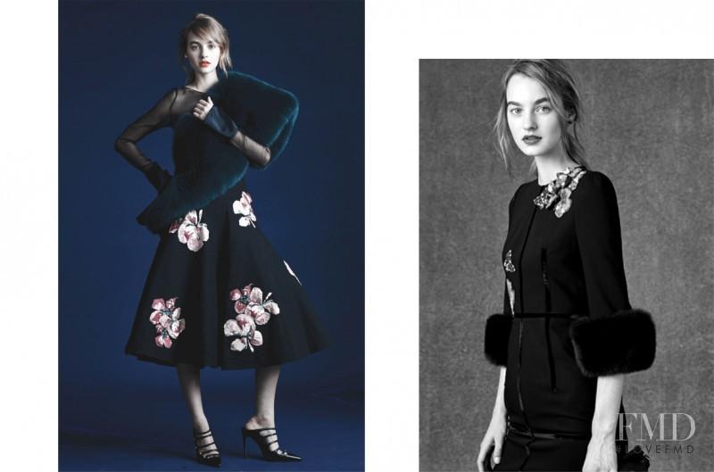 Maartje Verhoef featured in  the Jigott advertisement for Autumn/Winter 2016