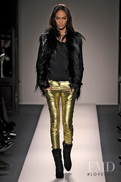 Joan Smalls featured in  the Balmain fashion show for Autumn/Winter 2011