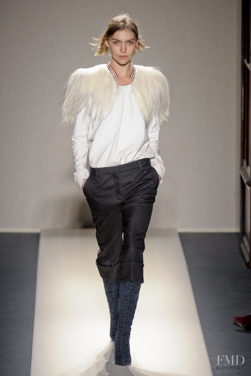 Arizona Muse featured in  the Balmain fashion show for Autumn/Winter 2011