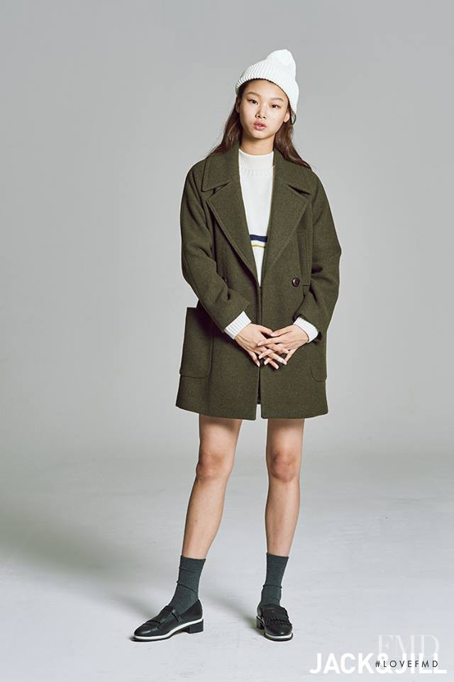 Yoon Young Bae featured in  the Jack & Jill lookbook for Autumn/Winter 2015