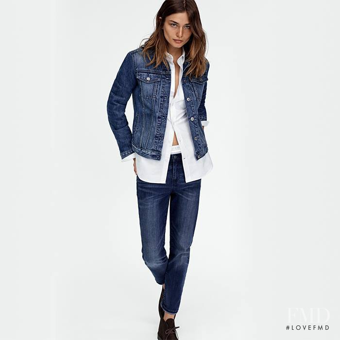 Andreea Diaconu featured in  the Gap advertisement for Spring/Summer 2017