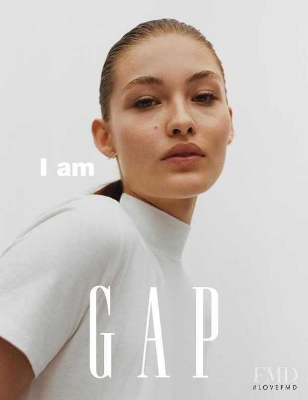 Grace Elizabeth featured in  the Gap advertisement for Spring/Summer 2017