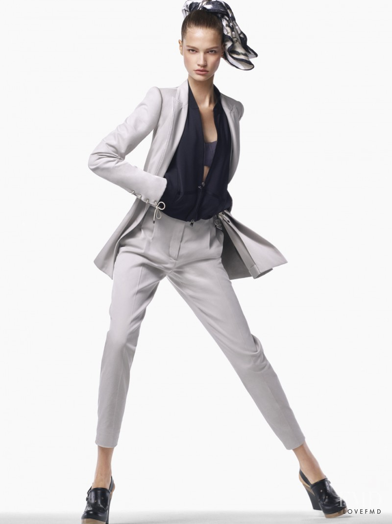 Faretta Radic featured in  the Max Mara advertisement for Spring/Summer 2017