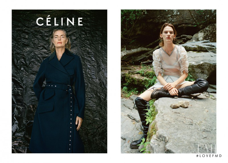 Celine advertisement for Spring/Summer 2017