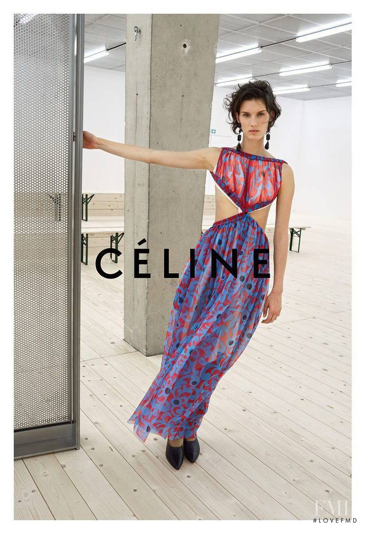 Celine advertisement for Spring/Summer 2017