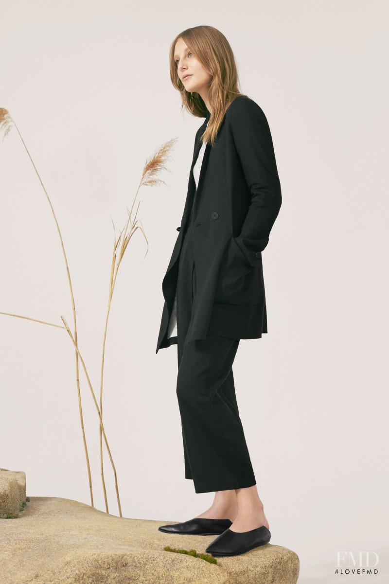Olympia Campbell featured in  the Mango Premium - Ltd. Edition Collection EDIT 05 lookbook for Spring 2017