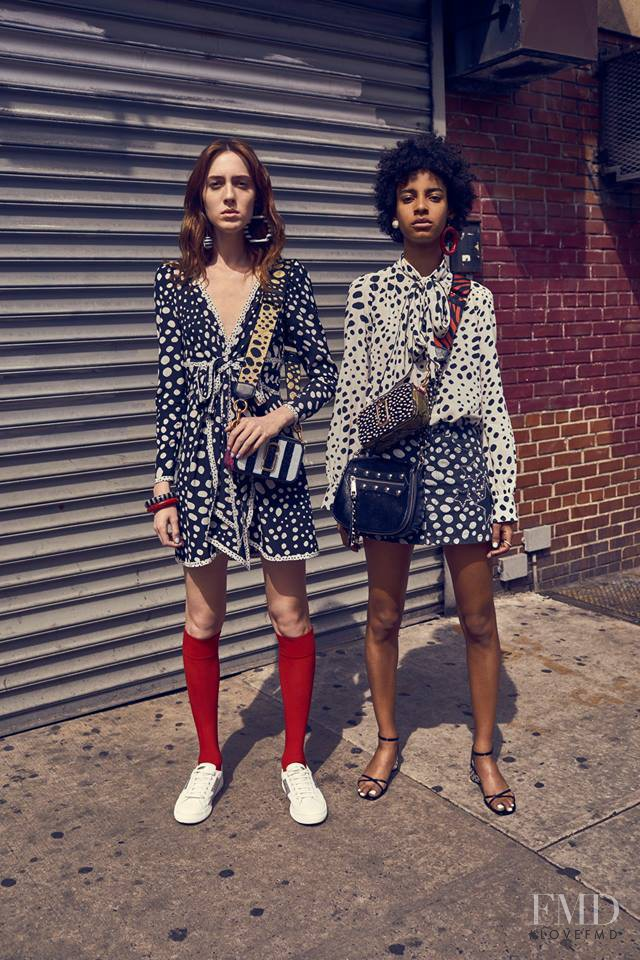Amelia Rami featured in  the Marc Jacobs lookbook for Pre-Fall 2017